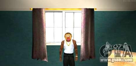 Mask Evil Prani v1 (Christmas 2016) for GTA San Andreas second screenshot