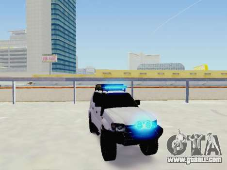 Toyota Land Cruiser Prado off-road LED for GTA San Andreas right view