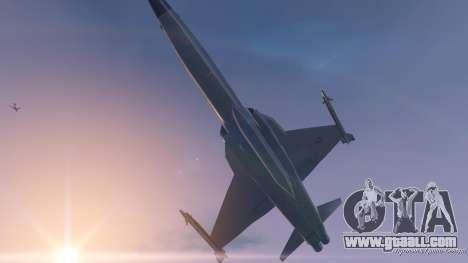 GTA 5 Northrop F-5E Tiger II USA eighth screenshot
