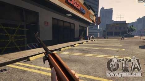 GTA 5 .30 Cal M1 Carbine Rifle ninth screenshot