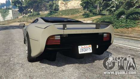 GTA 5 Jaguar XJ220 v1.2 rear left side view