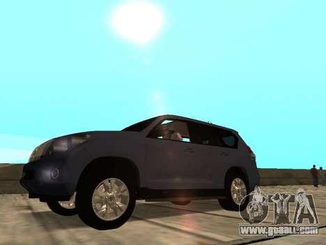 Toyota Land Cruiser Prado for GTA San Andreas left view