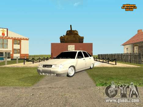 VAZ 2112 Bunker 0.1 v for GTA San Andreas left view