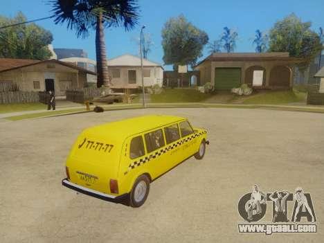 VAZ 2131 7-Door Taxi for GTA San Andreas inner view