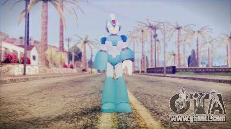 Marvel vs Capcom 3 Megaman for GTA San Andreas second screenshot