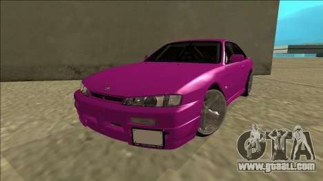 Nissan Silvia S14 Drift for GTA San Andreas back view