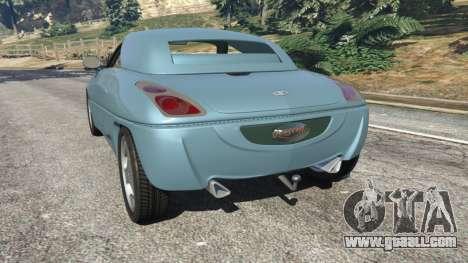 GTA 5 Daewoo Joyster Concept 1997 v1.2 rear left side view