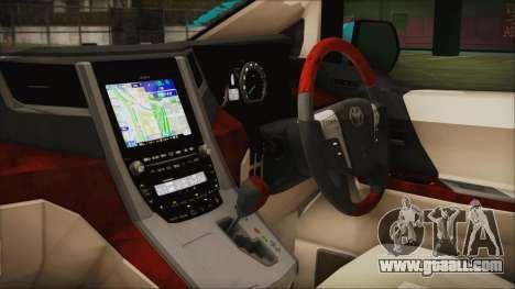 Toyota Alphard Hatsune Miku for GTA San Andreas right view