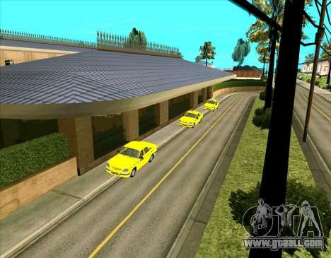 Parked vehicles for GTA San Andreas second screenshot