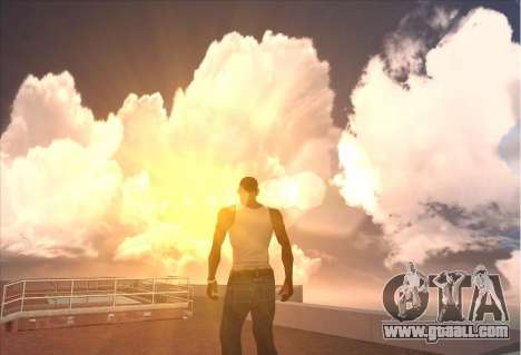 SkyBox and Lensflare for GTA San Andreas
