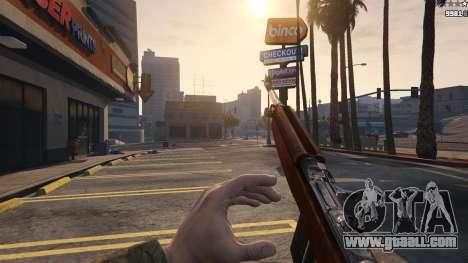 GTA 5 .30 Cal M1 Carbine Rifle fifth screenshot