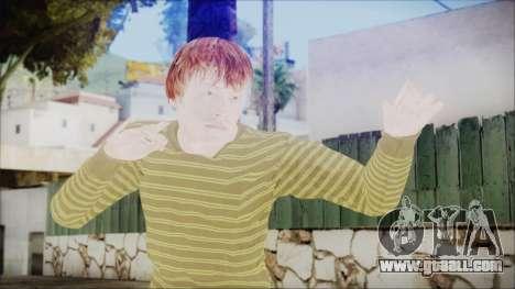 Ron Weasley for GTA San Andreas