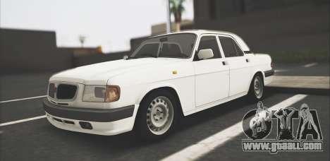 GAZ 3110 Stoke for GTA San Andreas
