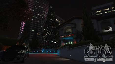 GTA 5  Christmas decorations for Michael's house