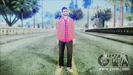 GTA Online Skin 26 for GTA San Andreas second screenshot