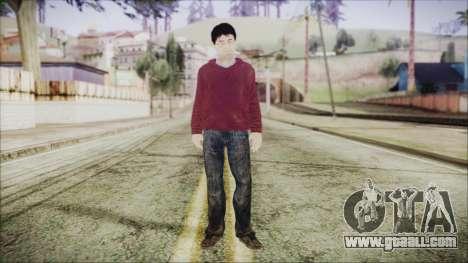 Harry Potter for GTA San Andreas second screenshot