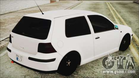 Volkswagen Golf 4 Romanian Edition for GTA San Andreas left view