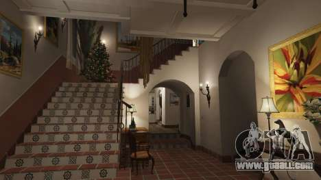GTA 5  Christmas decorations for Michael's house seventh screenshot
