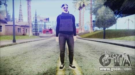 GTA Online Skin 59 for GTA San Andreas second screenshot