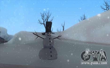 Winter Vacation 2.0 SA-MP Edition for GTA San Andreas second screenshot