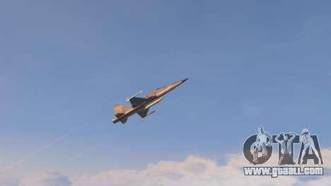 GTA 5 Northrop F-5E Tiger II USA ninth screenshot