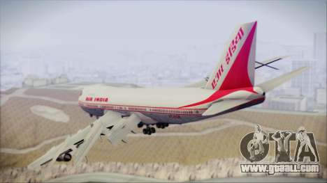 Boeing 747-237Bs Air India Mahendra Verman for GTA San Andreas left view