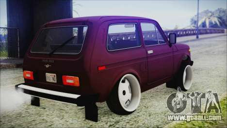 VAZ 2121 Niva 1600 for GTA San Andreas left view