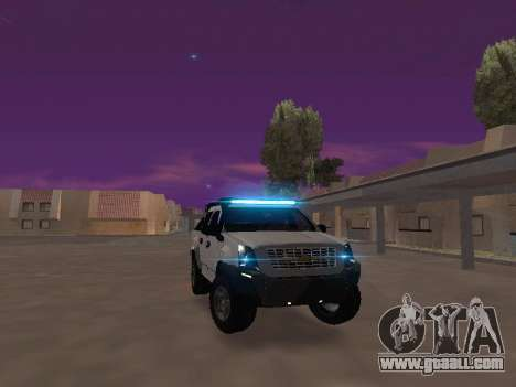 Chevrolet LUV D-MAX 2014 OffRoad (IVF) for GTA San Andreas right view