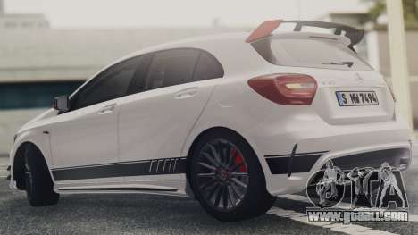 Mercedes-Benz A45 AMG Edition 1 for GTA San Andreas left view