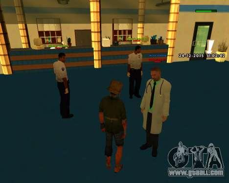 Good build quality skins MES for GTA San Andreas forth screenshot