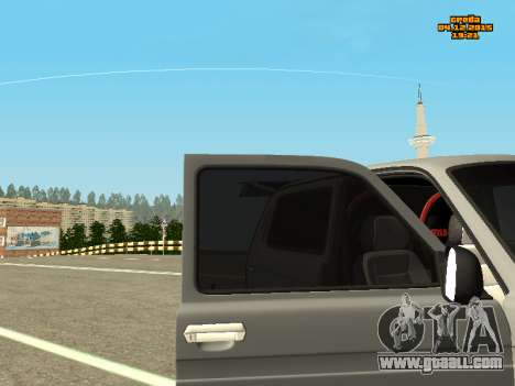 VAZ 2123 Niva auto Sound for GTA San Andreas right view