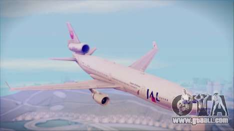 McDonnell-Douglas MD-11 Japan Airlines for GTA San Andreas