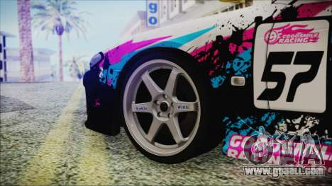 Nissan Silvia S15 Itasha Beta for GTA San Andreas back left view