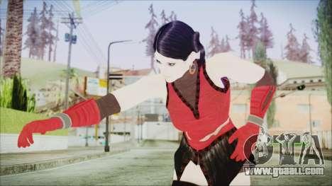 Tekken Tag Tournament 2 Zafina Dress v1 for GTA San Andreas