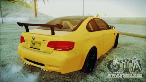 BMW M3 GTS 2011 IVF for GTA San Andreas left view