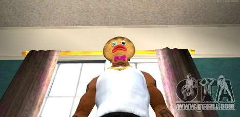 Mask Evil Prani v1 (Christmas 2016) for GTA San Andreas