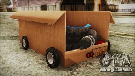 Kart-Box for GTA San Andreas left view