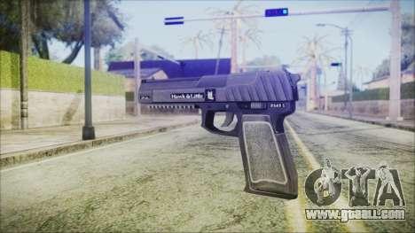 GTA 5 Pistol .50 v2 - Misterix 4 Weapons for GTA San Andreas second screenshot