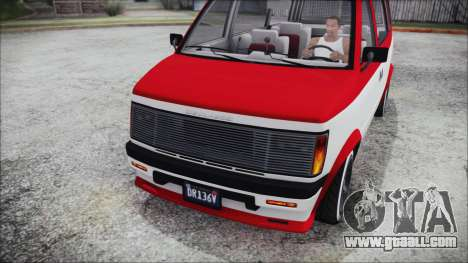GTA 5 Declasse Moonbeam Bobble Version IVF for GTA San Andreas right view
