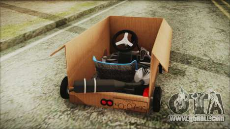 Kart-Box for GTA San Andreas back left view