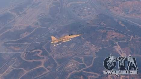 GTA 5 Northrop F-5E Tiger II USA tenth screenshot