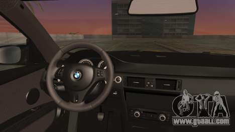 BMW M3 GTS 2011 IVF for GTA San Andreas right view