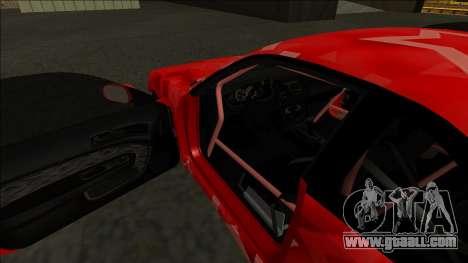 Nissan Silvia S14 Drift Red Star for GTA San Andreas interior