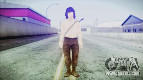 Rambo for GTA San Andreas second screenshot