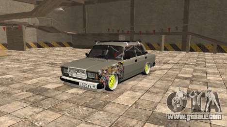VAZ 2107 JDM for GTA San Andreas
