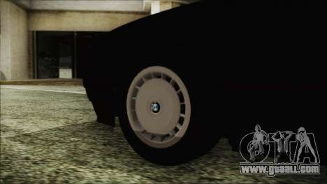 BMW 525i E34 1992 for GTA San Andreas back left view