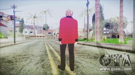 Skin DLC Executive Xmas for GTA San Andreas third screenshot