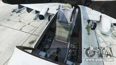GTA 5 Fairchild Republic A-10A Thunderbolt II v1.2 sixth screenshot