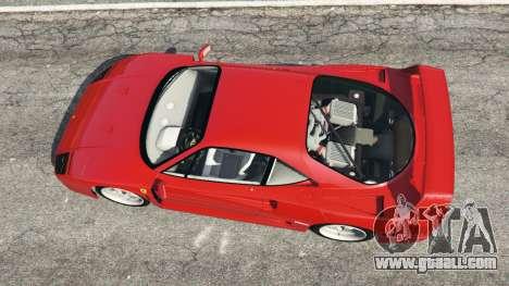 Ferrari F40 1987 for GTA 5