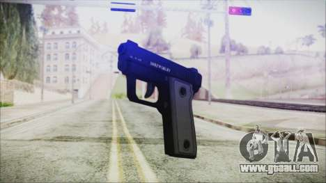 GTA 5 SNS Pistol - Misterix 4 for GTA San Andreas